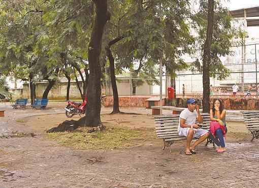 O bairro de Campo Grande apresentou queda de 36,94% na taxa de homicídios no ano passado. Dados foram divulgados ontem (BLENDA SOUTO MAIOR/DP/D.A PRESS)