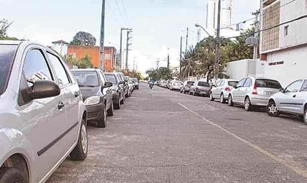 Ruas pacatas são ponto preferencial para abordagens (DEBORA ROSA/ESP.DP/D.A.PRESS)