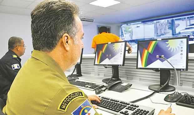 Central vai utilizar imagens de câmeras para monitoramento (DJAIR PEDRO/DIVULGACAO)