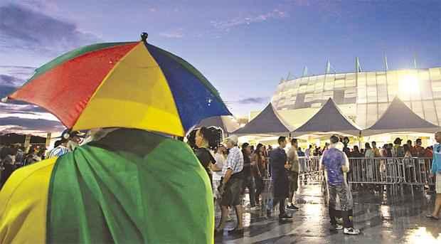 Cerca de 200 mil torcedores devem comparecer ao estádio durante a competição (PAULO PAIVA/DP.D.A PRESS)