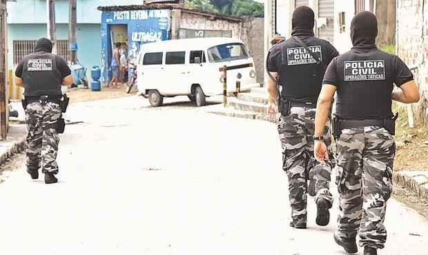 Polícia Civil vai ganhar reforço na RMR e no interior (ALCIONE FERREIRA/DP)