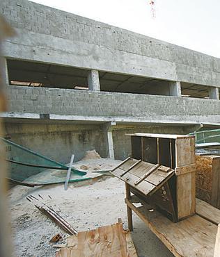 Os serviços da nova estrutura estão parados (BLENDA SOUTO MAIOR/DP/D.A PRESS)