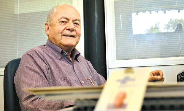 Antonio Castro, do Sebrae, explica as etapas do processo público (Malu Cavalcanti/ Esp. DP )