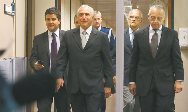 Vice-presidente fez uma reorganização das pastas e agora vai fechar os nomes (VALTER CAMPANATO/AGÊNCIA BRASIL)