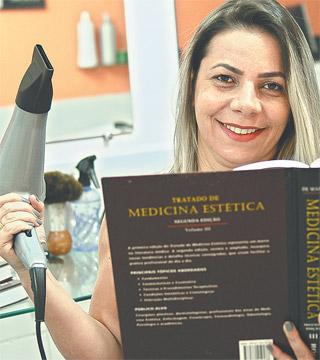 Maria José fez curso técnico para realizar um sonho (João Velozo/Esp. DP - 21/06/16)