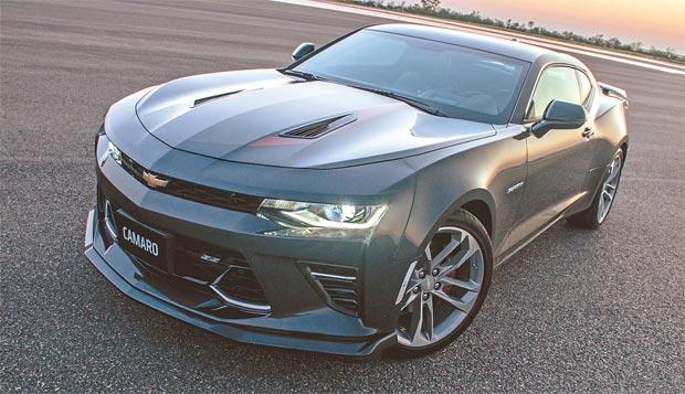 Sexta geração do esportivo será vendida também na versão limitada a 100 unidades (GM/Divulgação)