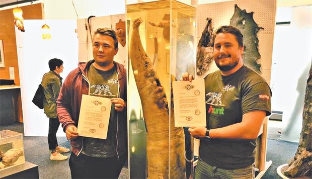 Visitantes podem conhecer as características biológicas de 286 espécimes e ainda receber certificados de participação no projeto (Reprodução do facebook)