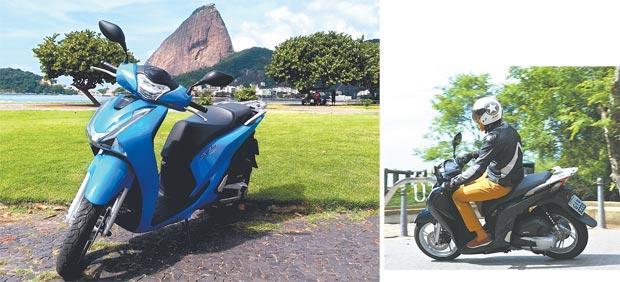 Motocicleta chega nos próximos dias no mercado e custará a partir de R$ 12 mil. Para a segurança estão disponíveis ABS nos discos de freio de série e rodagem de 16 polegadas (fotos: Honda/Divulgacao)