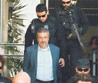 Antônio Palloci foi preso pela Operação Lava-Jato em setembro do ano passado (PAULO LISBOA/AFP)