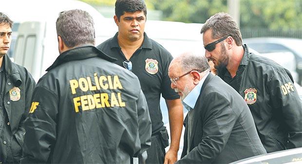 Léo Pinheiro foi preso no ano passado e já teve pedido de delação negado pela PGR (WERTHER SANTANA /ESTADAO)