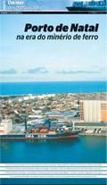 Porto de Natal  na era do minério de ferro (Eduardo Maia/DN/D.A.Press )